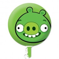 Angry Birds Green Pig Balloon